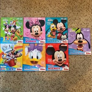 7 Mickey Mouse Clubhouse books